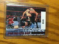 F55793  2001 Fleer WWF WrestleMania Signature Moves #SM2 Stone Cold Steve Austin