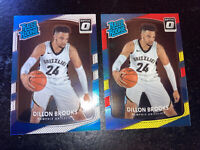 2017-18 Optic Dillon Brooks RC Lot Rated Rookie #152 Red Yellow Base Grizzlies