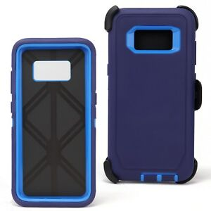 For Samsung Galaxy S8 / S8 Plus Case Shockproof Series Fits Defender Belt Clip