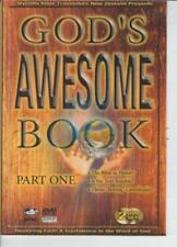 God's Awesome Book Part One 2-Disc Set w/ Study Guide DVD VIDEO MOVIE BIble God