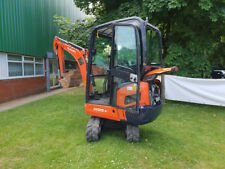 Kubota KX015-4 Mini Digger with Full Cab & 2 Buckets (Finance Available)