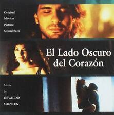 EL LADO OSCURO DEL CORAZON CD OSVALDO MONTES SOUNDTRACK