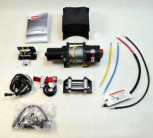 New Polaris Warn Provantage 3500 ATV Winch Kit Sportsman, 570, 850,1000