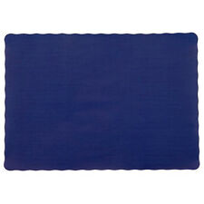 """25 Paper Placemats 10"""" X 14"""" Dinner Size 26 Colors - Navy Blue"""