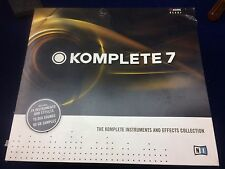 Native Instruments Komplete 7 - Bundle Use To Upgrade To Komplete 10