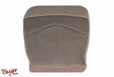 1999 Ford F-150 XLT Extended-Cab F150 -Driver Side Bottom Cloth Seat Cover Tan