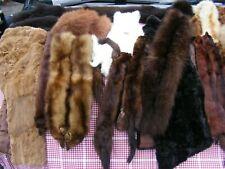 Massive job lot vintage real fur mink fox marmot stoles wraps ties collars boa