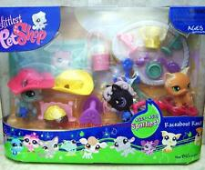 Littlest Pet Shop RACEABOUT RANCH lot #523 #524 #525 Super Rare! Retired! NIB