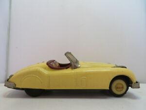 1950's-60's Bandai Tin Jaguar some rust/wear see pics