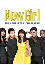 New Girl . The Complete Season 5 . Zoey Deschanel . 3 DVD . NEU . OVP