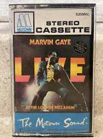MARVIN GAYE - Live at the London Palladium 1977 Cassette Soul Motown Paper Label
