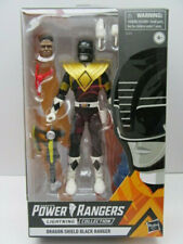 Black Power Ranger Dragon Shield Lightning Collection *Walgreens Exclusive* NEW