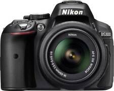 Nikon D D5300 24.2MP Digital SLR Camera - Black Kit w/ AF-S DX VR II 18-55mm