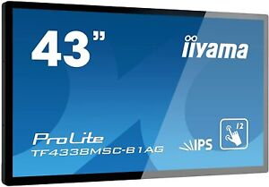 Iiyama Prolite TF4338MSC-B1AG 108cm 43 Pouces IPS Écran LED Full HD Multi-Touch
