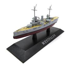 Navi da Guerra De Agostini Westfalen Battleship 1/1250