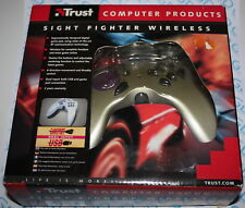 TRUST 11669 Sight Fighter Wireless Controller JoyPad JoyStick GamePad