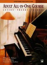 Adult All-in-One Course: Lesson, Theory, Technique by Willard A Palmer (Paperback, 1994)