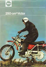 VINTAGE BSA VICTOR 250 TRAIL MOTORCYCLE AD POSTER 36x25 STYLE A