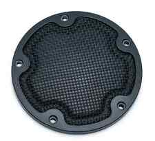 KURYAKYN BLACK MESH DERBY COVER FOR 2006-2015 HARLEY DAVIDSON STREET GLIDES HD