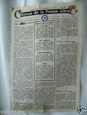 TRACT 2ème GM LE COURRIER DE L'AIR  N°10 RAF 1943