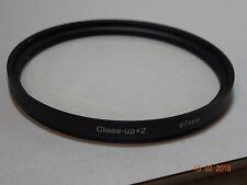 Lente della fotocamera Filtro Close Up Lenti 67mm VITE FIT +2 Macro