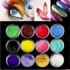 12 Color Lot Pigment Powder For Soap Nail Art Eye Shadow Resin Colorant Dye