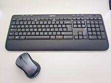 Logitech Wireless Combo MK520 Tastatur-Maus-Set US INT (Englisch )