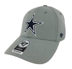 Dallas Cowboys '47 Brand MVP Adustable Hat Cap new NFL cap authentic grey gray