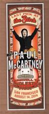 The Beatles Paul McCartney 'Last Pick At The Stick' Farewell to Candlestick Park