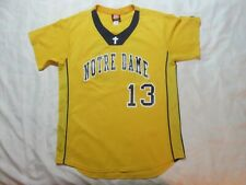 Notre Dame Local School Women's Large Yellow Jersey Wilson