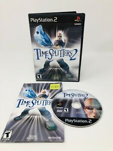 TimeSplitters 2 (Sony PlayStation 2 PS2) Complete - Cleaned & Tested!