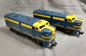 1957 Lionel Santa Fe #208 Diesel Locomotives