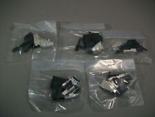 Connector D-Sub Receptacle 9 POS with solder back lot of 5 - New