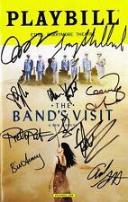 The Band's Visit Original Broadway Cast SIGNED Playbill Tony Shalhoub COA