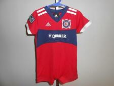 New-Mended Chicago Fire Infant Size 18Months Creepr by Adidas