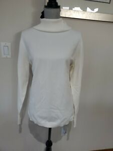 New Lane Bryant Womens Long Sleeve Off White  Plus Sz Pullover Sweater Sz 22/24