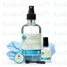 VINYL RECORD CLEANER KIT - AUDIOZOMBA 5 Pc RECORD & STYLUS CLEANER KIT LAB GRADE