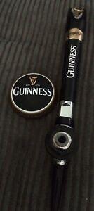 Guinness Beer Tap + Badge (Breweriana Man Cave Home Bar Pub)