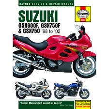 Suzuki GSX600 GSX750F GSX750 1998-2002 Haynes Workshop Manual