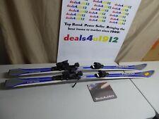 Head Carve Team Kids Youth Jr Downhill 160cm Skis Tyrolia SR7 Bindings VG 19