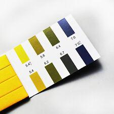 10 pcs 80 pages PH test paper 5.4-7.0 pH test paper Precision test paper