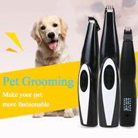 Rechargeable Electric Pet Hair Trimmer Cat Dog Grooming Trimmer Hair Clipper Set