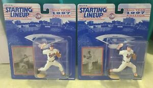 2 x 1997 Starting Lineup 10th Year Edition Nolan Ryan Suns New In Package