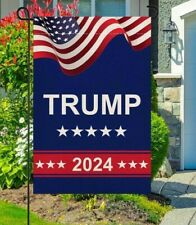 Donald Trump 2024 Garden Flags- TAKE American Back - Double Sided Yard Sign USA