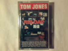TOM JONES Reload mc cassette k7 ZUCCHERO SIMPLY RED PRETENDERS SIGILLATA SEALED!