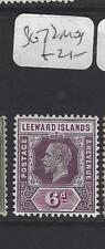 LEEWARD ISLANDS (P1610B)  KGV  6 D   SG 72     MOG