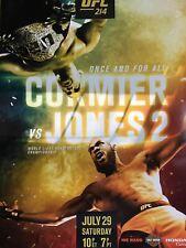 UFC 214 Poster - Cormer VS Jones