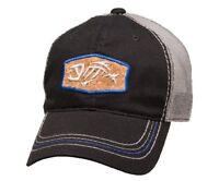 G. Loomis Cork Patch Trucker Cap, Black (Adjustable)
