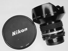 Nikon 15mm f3.5 Ais  #187125 ......... W/Caps,L1bc filter