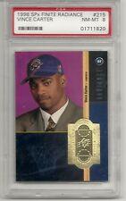Vince Carter 1998 SPX Finite Radiance NM-MT RC 53/1500 PSA 8 Raptors L@@K
